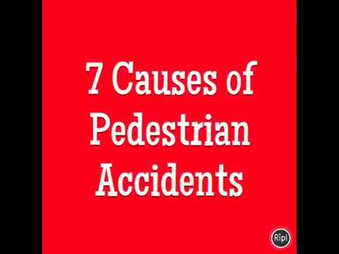 7 Causes of Pedestrian Accidents | Connecticut Personal Injury Lawyer