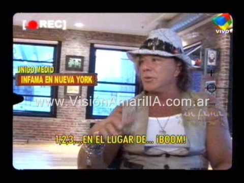 Mickey Rourke en Infama Entrevistado por Ricardo Fort