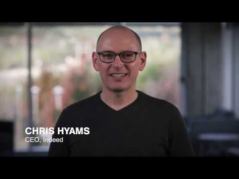 CEO of Indeed, Chris Hyams 2019