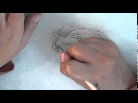 สอนวาดการ์ตูนElsaจากการ์ตูนdisneyเรื่องfrozen