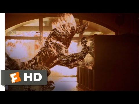 The Relic (9/9) Movie CLIP - Torching the Creature (1997) HD