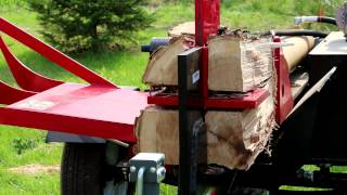 42 Ton Log Splitter with 4 way wedge and hydraulic lift