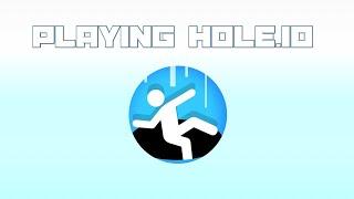 Playing Hole.io