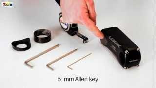 LOOK C-Stem - Handlebar height adjustment through stem inclination