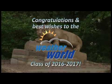 2016-2017 Weather World Graduates