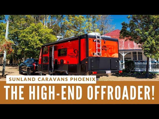 HIGH-END CARAVAN! Sunland Caravans Phoenix has the lot!