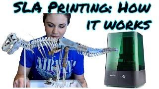 SLA 3D Printing: How It Works!