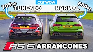 Audi RS6 - ARRANCONES *Tuneado vs Normal*