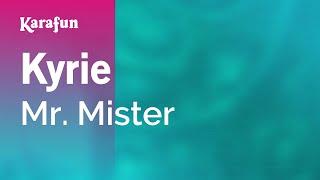 Karaoke Kyrie - Mr. Mister *