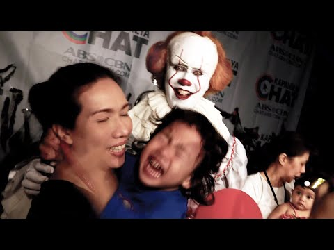 Pennywise Invades A TV Network And Crashed A Halloween Party! (ABS-CBN)