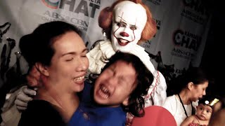 Download lagu Pennywise invades a TV Network and crashed a Halloween Party! (ABS-CBN)