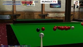 Virtual Pool 4 Blog - #15 Snooker - Practise Frame with Tournament Pockets