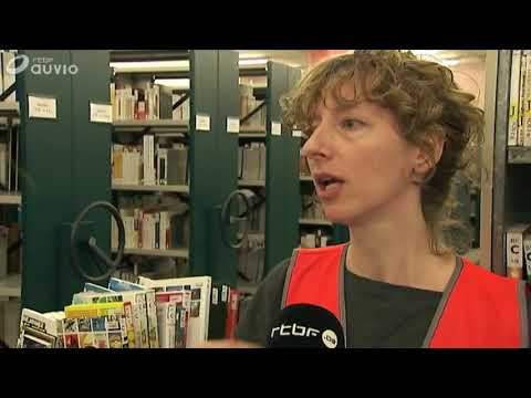 CYCLING FOR LIBRARIES BELGIUM 2017 on TV