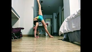 Handstand dancing, back bends and 1 arms