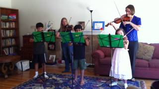 Violin camp concert - Fiddler