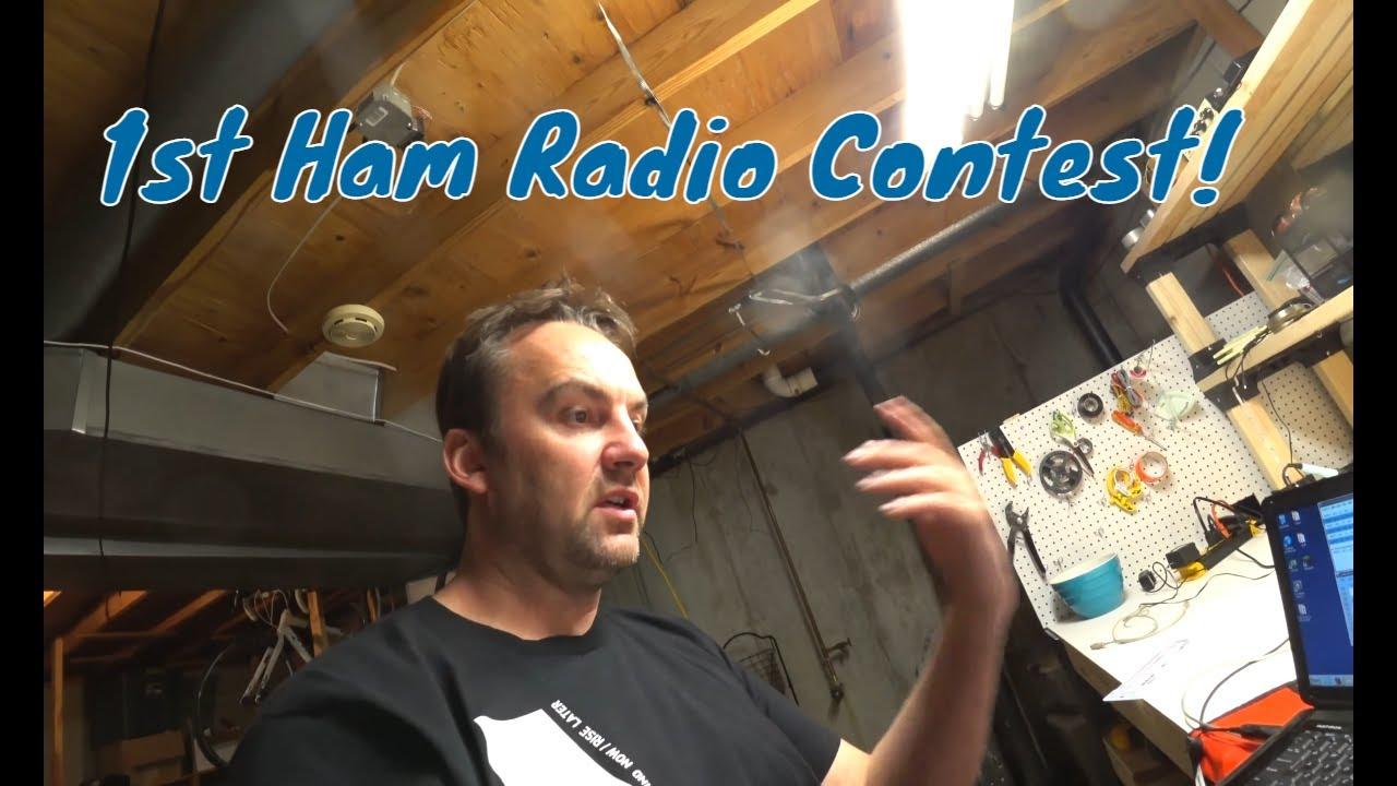 ICOM IC-7300 Ham Radio Contesting using MP1 Super Antenna