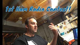 icom ic 7300 ham radio contesting using mp1 super antenna