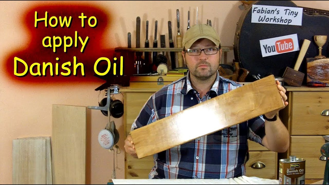 How to apply Danish Oil - YouTube