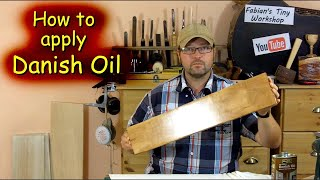 How to apply Daฑish Oil