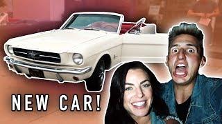 GOT OUR FIRST CAR AS A COUPLE! *WEDDING CAR*