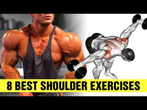 8 Dumbbell Exercises to Build Massive Shoulders Gym Body Motivation
