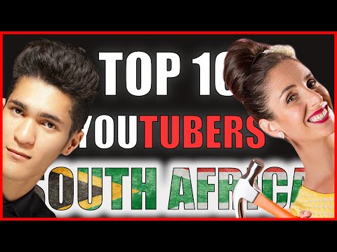 Top 10 South African YouTuber's | 2016