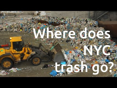 Where Does NYC Trash Go? - Recycled Mississippi #05
