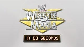 WrestleMania in 60 Seconds: WrestleMania XV