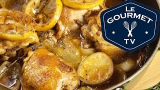 Lemon, Thyme And White Wine Chicken - Legourmettv