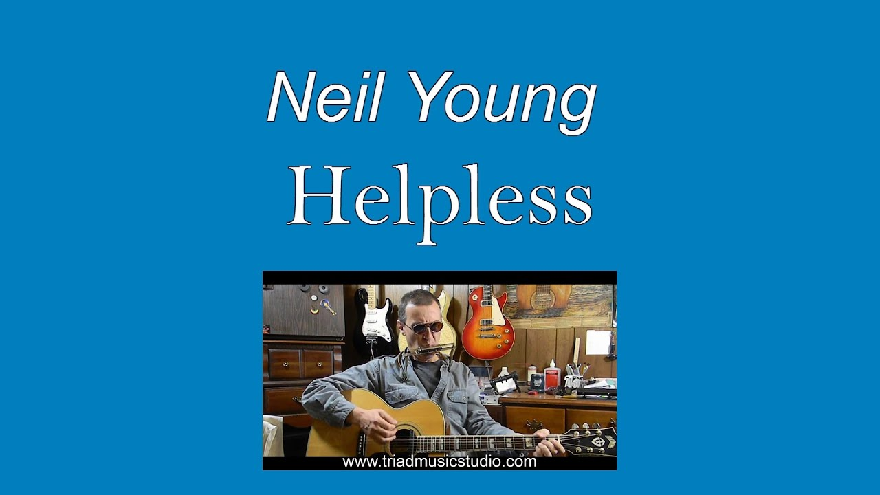 Neil young helpless with lyrics chords easy guitar for neil young helpless with lyrics chords easy guitar for beginners c87 youtube hexwebz Image collections
