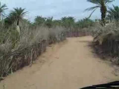 Drive through Village in Mauritania