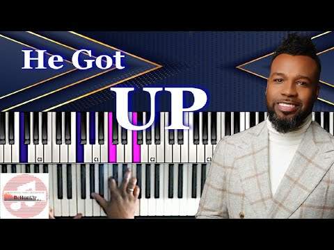 VaShawn Mitchell - He Got Up 🎹 Tutorial thumbnail