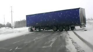 Tır Şoförü İyi Kurtarıyor.