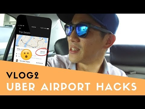 Uber Airport Hacks To SAVE Money + Arriving in LaGuardia NYC | VLOG2