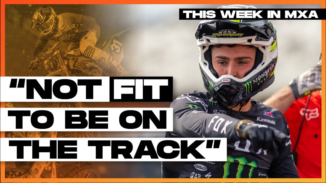 """""""Cameron McAdoo nearly fell off his bike.""""  - This Week in MXA Episode 17"""