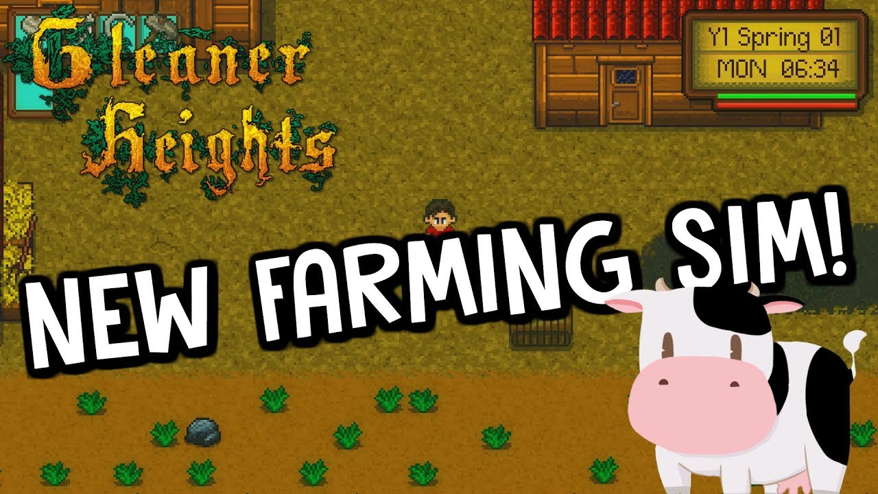 This Game Reminds Me Of Harvest Moon (SNES) - Gleaner Heights  First Look  Gameplay