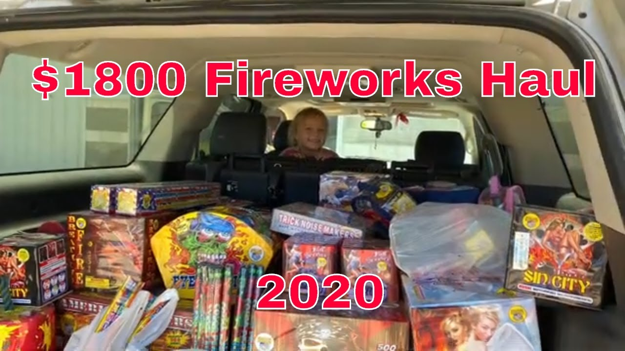 Fourth of July Fireworks Haul $1500  (+300 free)  #fireworkshaul  #fourthofjuly