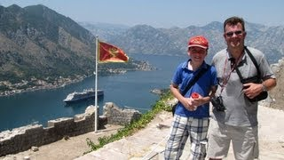CRUISING INTO AND AROUND THE BAY of KOTOR, MONTENEGRO