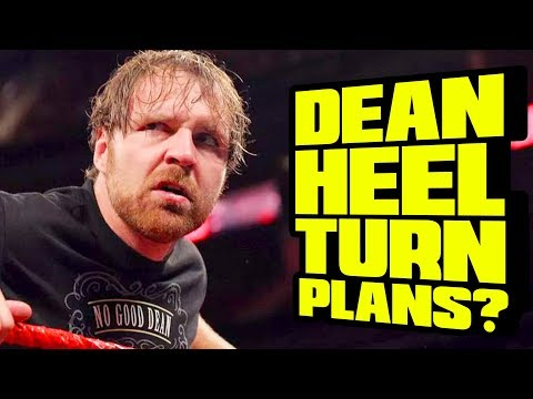 BACKSTAGE UPDATE ON DEAN AMBROSE HEEL TURN? Going In Raw Daily 10/17/17