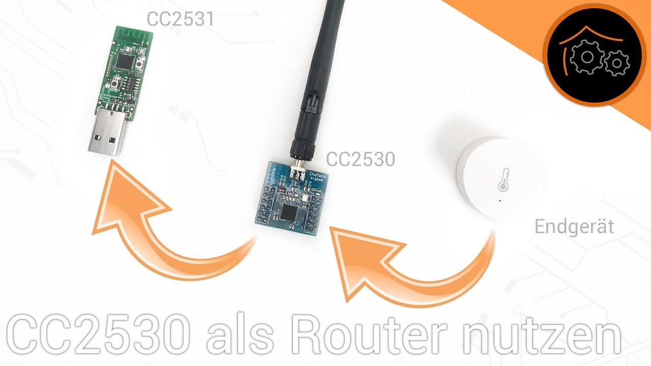 Cc2530 Als Zigbee Router Flashen Haus Automatisierung Com 4k