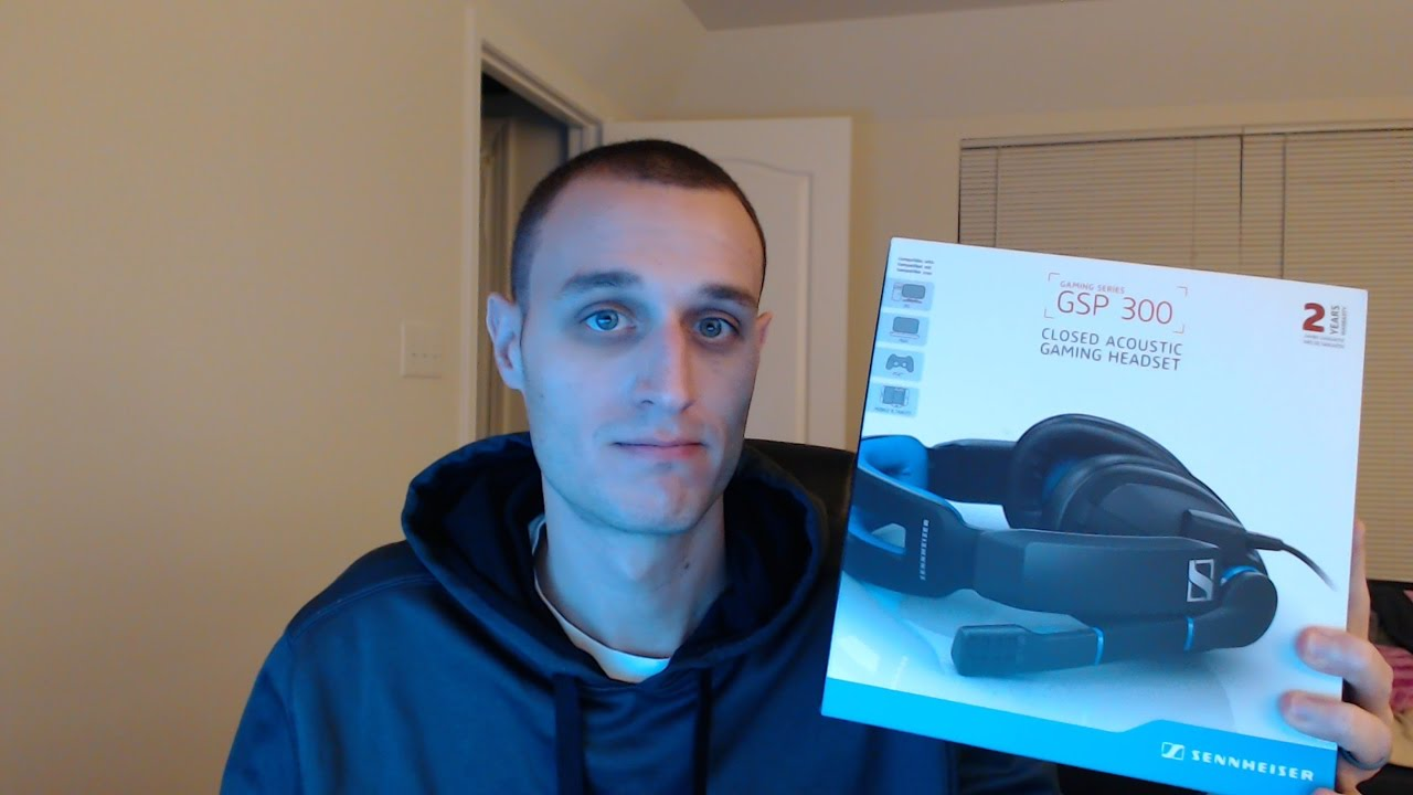 e21e7a906b4 Sennheiser GSP 300 Gaming Headset unboxing and initial thoughts ...