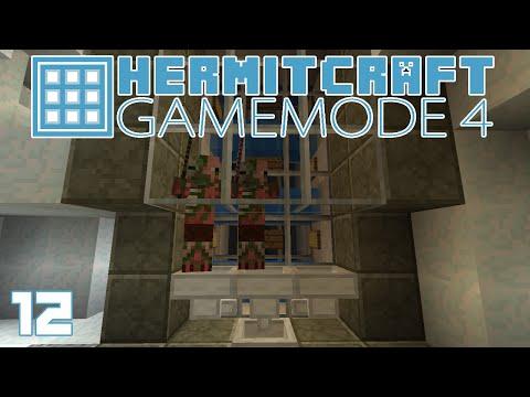 Hermitcraft Gamemode 4 12 Frozen Waterfall