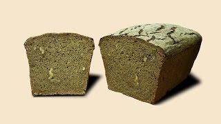 Чёрный хлеб с грецкими орехами