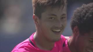 2017年6月4日(日)に行われた明治安田生命J1リーグ 第14節 広島vs鹿...