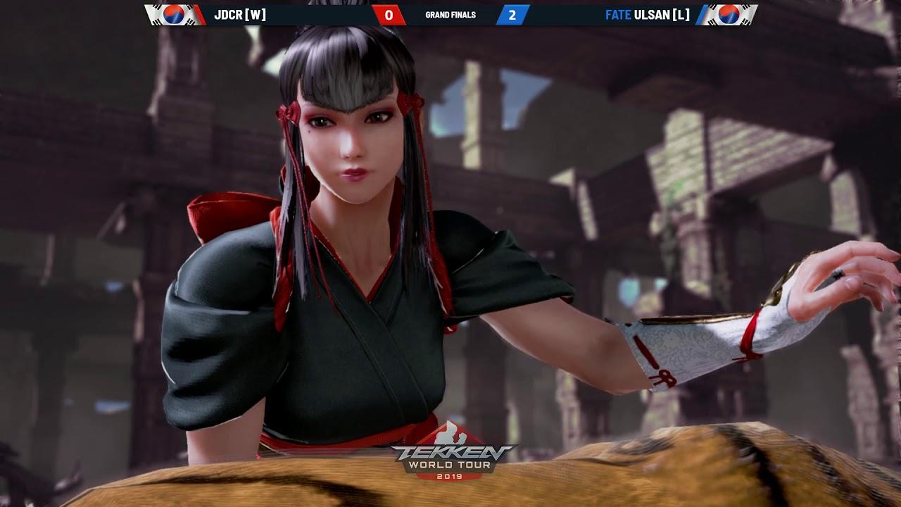 Tekken 7 Fate Ulsan Vs Jdcr Battle Arena Melbourne 2019 Grand Finals Youtube