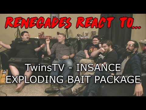 Renegades React to... TwinsTV - INSANE EXPLODING BAIT PACKAGE!!