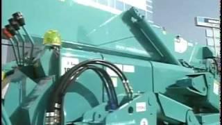 видео Обновленный гусеничный кран Maeda