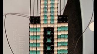 Leslie Rogalski demonstrates Bead Weaving on a Loom on Beads, Baubles & Jewels (2103-1)