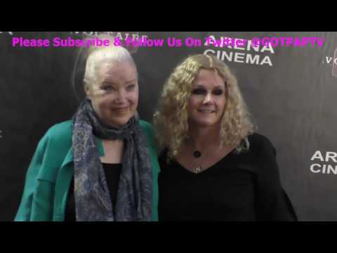 Sally Kirkland and Susan Traylor arriving to the Premiere at Arena Cinema in Hollywood