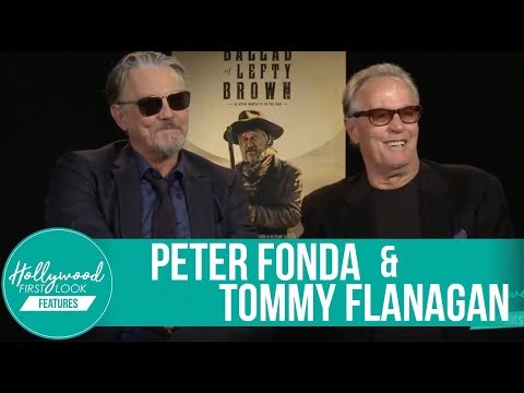 Peter Fonda & Tommy Flanagan  Making of: The Ballad of Lefty Brown 2017